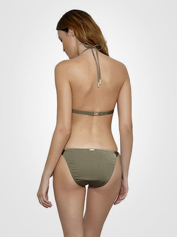 "Maryan Mehlhorn push up peldkostīms ""Icon Triangle Olive"""